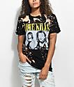 Kill Brand Love Kills Bleached Black T-Shirt