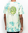 Killer Acid Own Supply camiseta verde con efecto tie dye