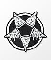 Killstar Pizzagram Black & White Patch