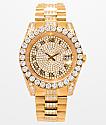 King Ice LX reloj de oro 14k