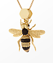 King Ice The Queen Bee Necklace