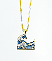"King Ice Wave Franco Chain 26"" Necklace"
