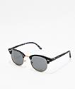 Kings Dark Wood Clubmaster Sunglasses