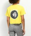 Know Bad Daze Dusk Gold Crop T-Shirt
