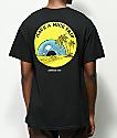 Know Bad Daze Trip camiseta negra
