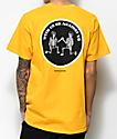 Know Bad Daze With Us camiseta amarilla