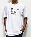 Krooked Kat White T-Shirt