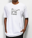 Krooked Kat camiseta blanca