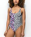 Kulani Kinis 101 Leopards One Piece Swimsuit