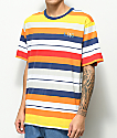 LRG Brilliant Youth Multi Stripe T-Shirt