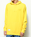 LRG More Classic Yellow Hoodie