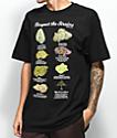 LRG Respect The Strains camiseta negra