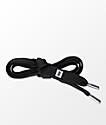 Lacorda OG Black Shoelace Belt