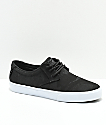 Lakai Daly Black Camo Textile Skate Shoes