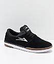 Lakai Fremont Black, Grey & Gum Suede Skate Shoes