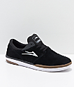 Lakai Fremont zapatos de skate de ante en negro, gris y goma