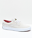 Lakai x Independent Riley Hawk White Skate Shoes