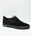 Lakai x Motorhead Riley II Black Skate Shoes