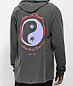 Learn To Forget Smoker's Club Black Hooded Long Sleeve T-Shirt