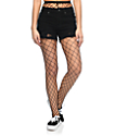 Leg Avenue Black Fishnet Tights