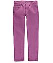 Levi 511 Grape Kiss Slim Fit Jeans