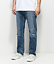 Levi's 502 Medium Blue Regular Fit Jeans