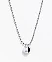 Lokai Silver Single Pendant Necklace