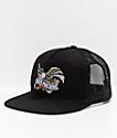 Loser Machine Co. Elswick Black Mesh Trucker Hat