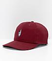 Loser Machine Co. Garfield Burgundy Strapback Hat