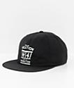 Loser Machine Lompoc Black Snapback Hat