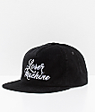 Loser Machine Majestic Black Corduroy Hat