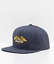 Loser Machine Wings Navy Snapback Hat