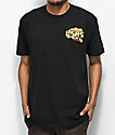 Luckie Losers 4 Finger Ring Black T-Shirt