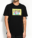 Luckie Losers x Exclusive Delivery Bachelorette Party Black T-Shirt