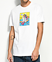 Luckie Losers x Exclusive Delivery Morning After White T-Shirt