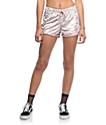 Lunachix shorts de terciopelo en rosa