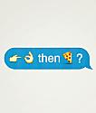 Lurk Hard Emoji pegatina