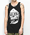 Lurking Class By Sketchy Tank  Death camiseta sin mangas negra