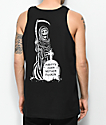 Lurking Class By Sketchy Tank  Party's Over Black Tank Top