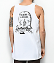 Lurking Class By Sketchy Tank Adios White Tank Top
