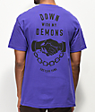 Lurking Class By Sketchy Tank Demons camiseta morada