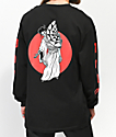 Lurking Class By Sketchy Tank Geisha Black Long Sleeve T-Shirt