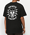 Lurking Class By Sketchy Tank Panther Black T-Shirt