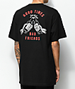 Lurking Class By Sketchy Tank Redrum Good Times Black T-Shirt