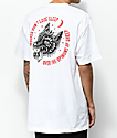 Lurking Class By Sketchy Tank Redrum Opinions White T-Shirt