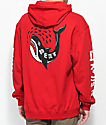Lurking Class By Sketchy Tank Shark Red Hoodie