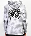 Lurking Class By Sketchy Tank Spider Skull Grey Dye Hoodie