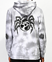 Lurking Class By Sketchy Tank Spider Skull sudadera con capucha gris
