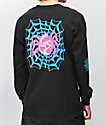 Lurking Class By Sketchy Tank Web Color Black Long Sleeve T-Shirt