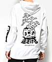 Lurking Class By Sketchy Tank x Mr. Tucks Lurker White Hoodie